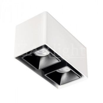 FASHION 2 ED FIXED-GU10 WHITE&BLACK IP20