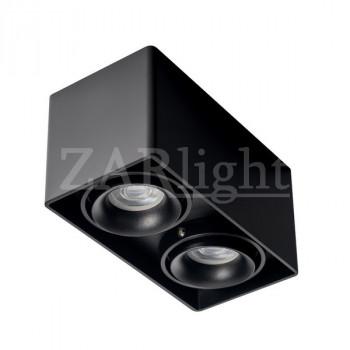 FASHION 2 ED G2-GU10 BLACK IP20