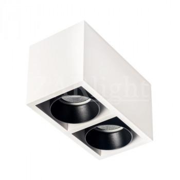 LED светильник COURSE 2 DIM WHITE&BLACK IP20
