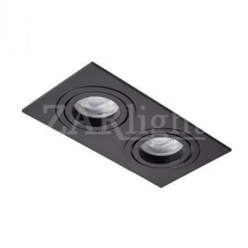 СВЕТИЛЬНИК DL-5602-GU10 BLACK IP20