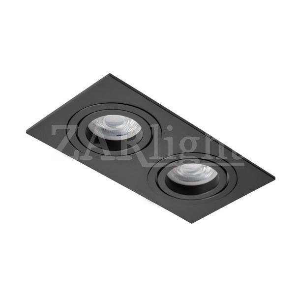 DL-5602-GU10 BLACK IP20